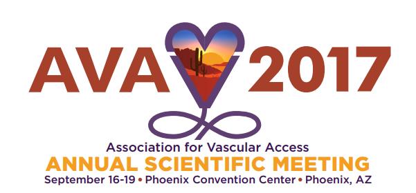 AVA2017 Conference Association for Vascular Access Phoenix AZ.png