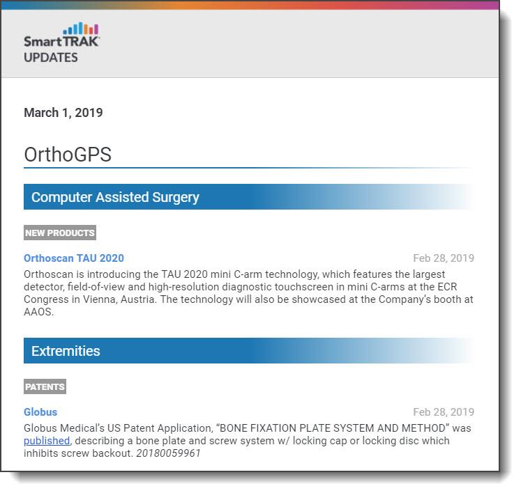 SmartTRAK Custom Update Email 9