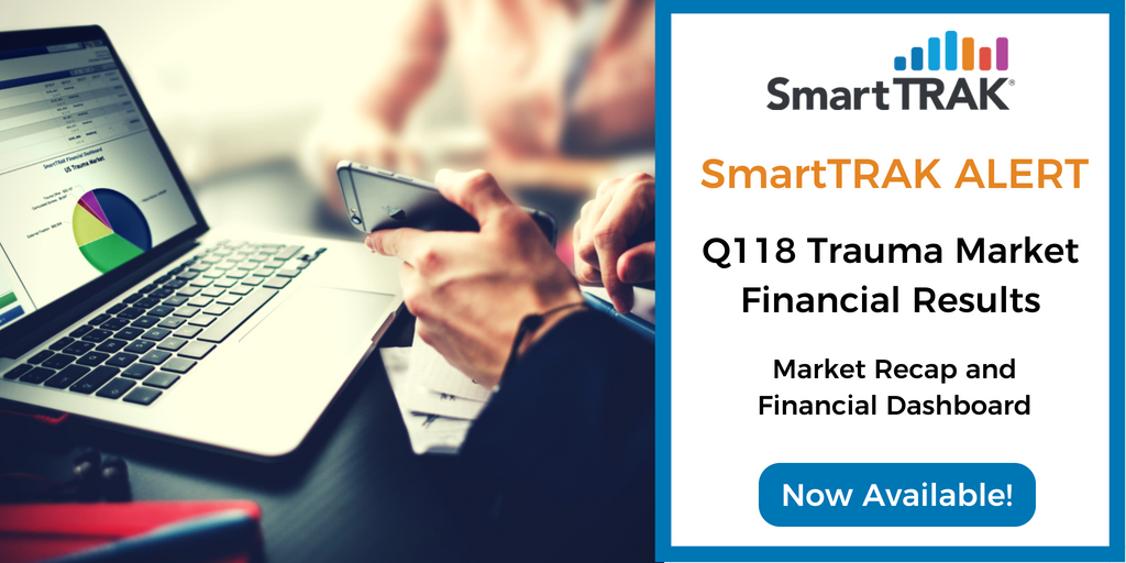 SmartTRAK Alert Blog Post Social Media - Q118 Trauma Market Recap