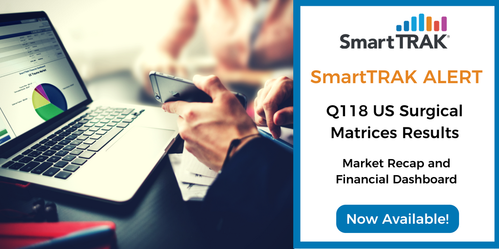SmartTRAK Alert Blog Post Social Media - Q118 US Surgical Matrices Recap