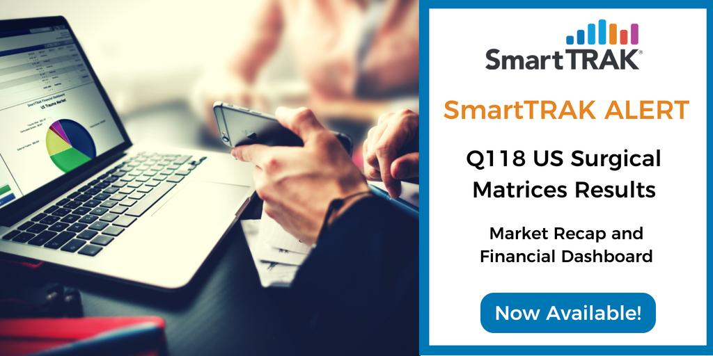 SmartTRAK Alert Blog Post Social Media - Q118 US Surgical Matrices Recap