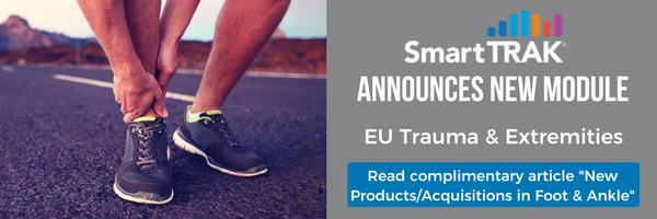 SmartTRAK Module Launch EU Trauma and Extremities Sep-2017